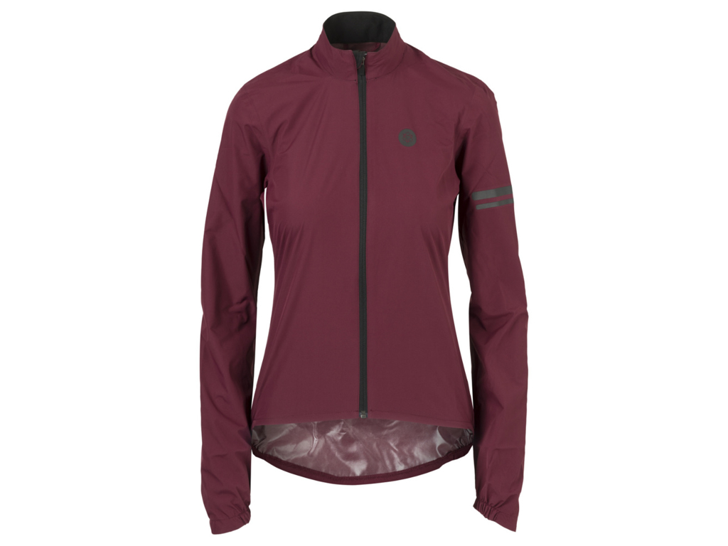 Image of   AGU Essential Rain Jacket - Dame cykelregnjakke - Bordeaux - Str. L
