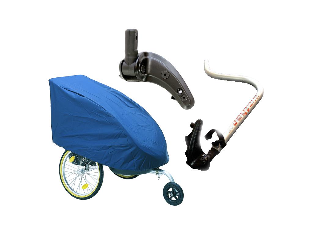 Tillbehör till cykelkärror för barn