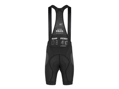 Assos Trail Liner Bib Shorts - MTB indershort m. pude - Sort