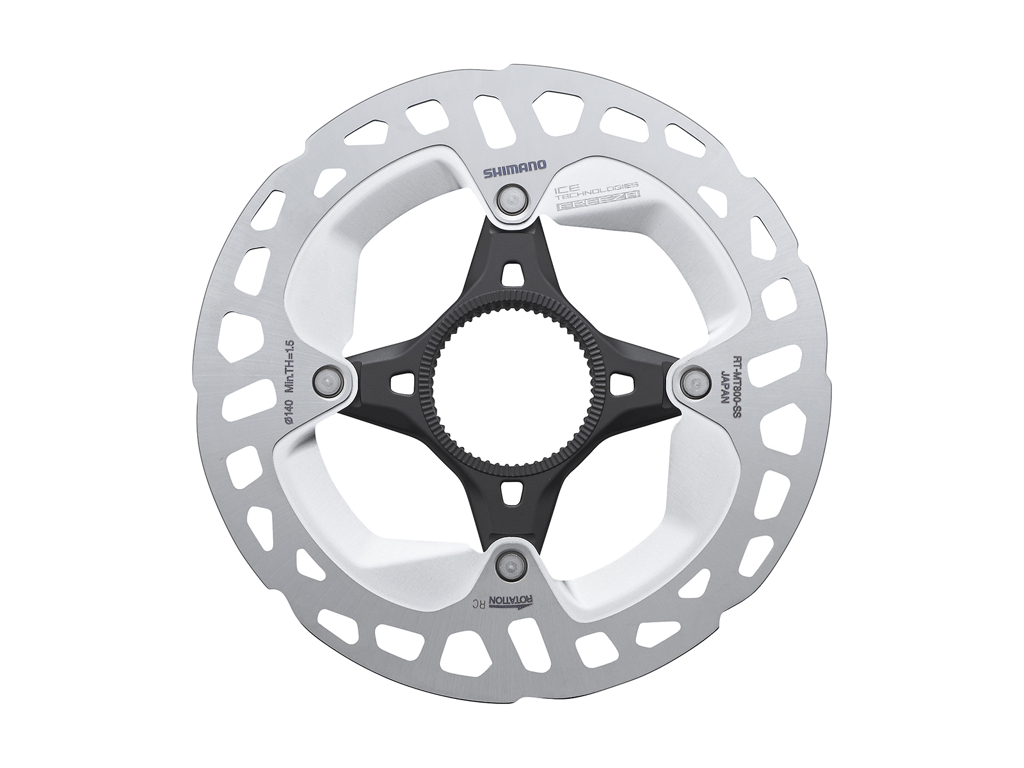 Image of   Shimano XT Rotor - Ice-Tech MT800 - 140 mm med Ice-Tech Freeza - Til center lock