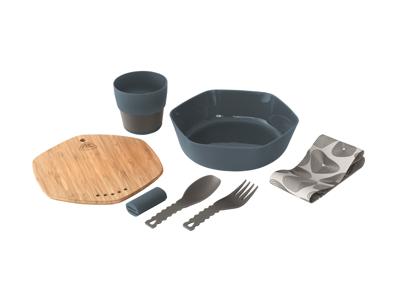Robens - Leaf Meal - Servicesæt - Blå/Natur