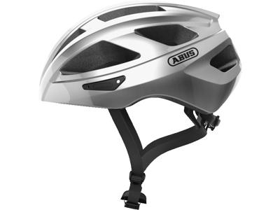 Abus Macator - Cykelhjelm - Sølv