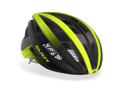 Rudy Project Venger - Cykelhjelm - Fluo Gul/Sort