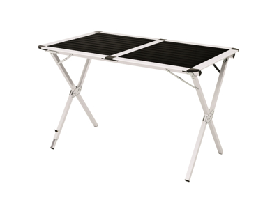 Easy Camp Rennes - Camping spisebord - Foldbar og Justerbar - Sort