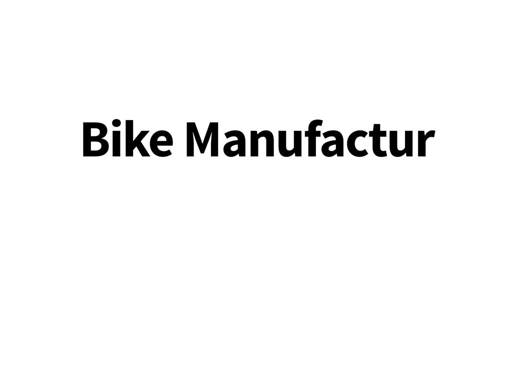 Geardrop til Bike Manufactur cykler