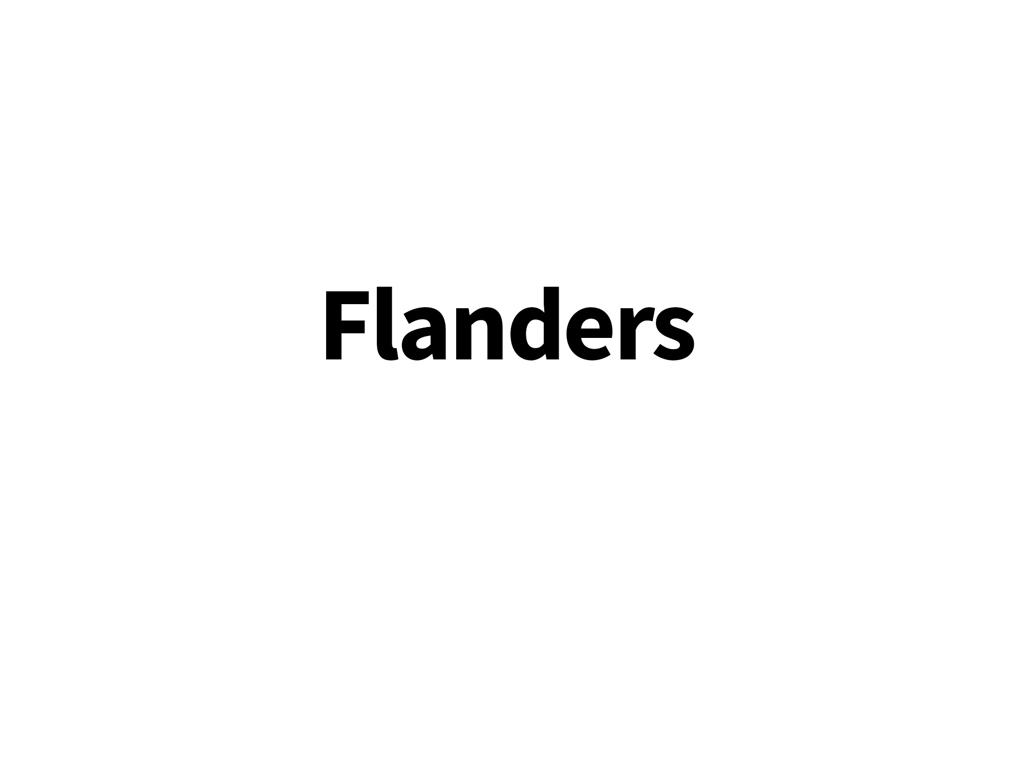 Växelöra till Flanders-cyklar