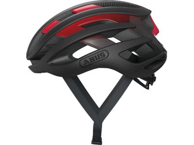 Abus AirBreaker - Cykelhjelm - Sort/rød