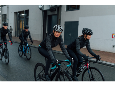 AGU Essential Prime DWR - Dame cykelbuks med pude - Sort