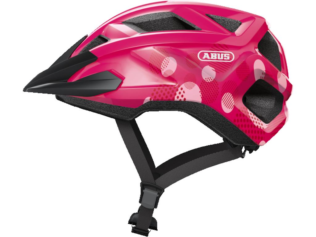 Image of   Abus MountZ - Cykelhjelm - Fuchsia Pink - Str. S