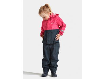 Didriksons Rusk Kids Set - Regnsæt - Pink