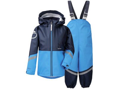 Didriksons Waterman Kids Set - Rainwear - Blue