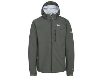 Trespass Stanford - Softshell jakke med hætte - Oliven