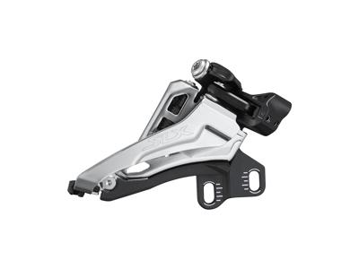 Shimano SLX - Forskifter M7100-E - 2 x12 gear - Direkte montering ved krank