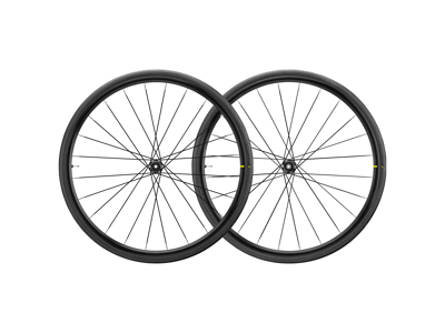 Mavic Aksium Elite UST Disc - Tubeless Wheel Kit inkl. däck - Sram / Shimano - 6 håls - 700x28c