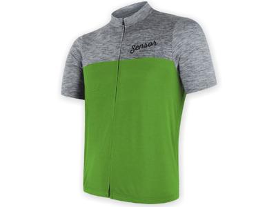 Sensor Motion FZ Jersey - Cykeltröja med kort ärm - Grå / Grön