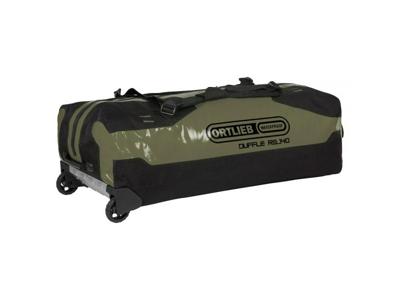 Ortlieb Duffle RS - Rejsetaske m. hjul - Grøn/sort - 140 liter