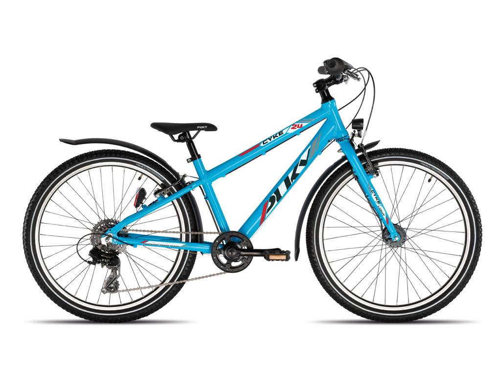"Puky - Cyke 24"" Light Active - Børnecykel - Blå"