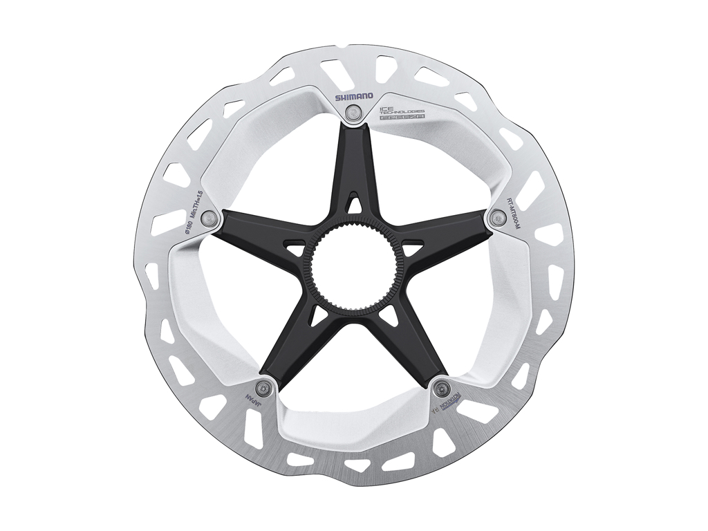 Image of   Shimano XT Rotor - Ice-Tech MT800 - 180 mm med Ice-Tech Freeza - Til center lock