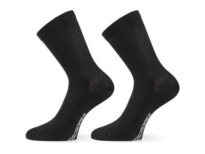 Assos Essence Socks - Cykelstrømper - Sort