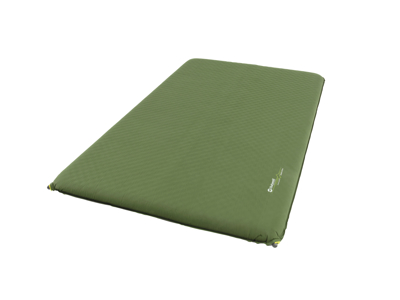 Outwell Dreamcatcher Double 10 cm - Uppblåsbar madrass - Grön