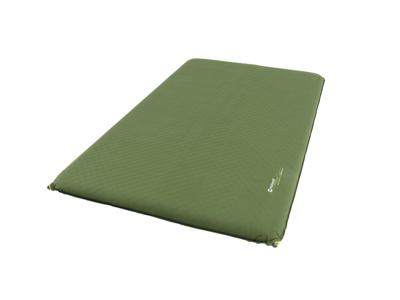Outwell Dreamcatcher Double 10 cm - Selvoppustelig madras - Grøn
