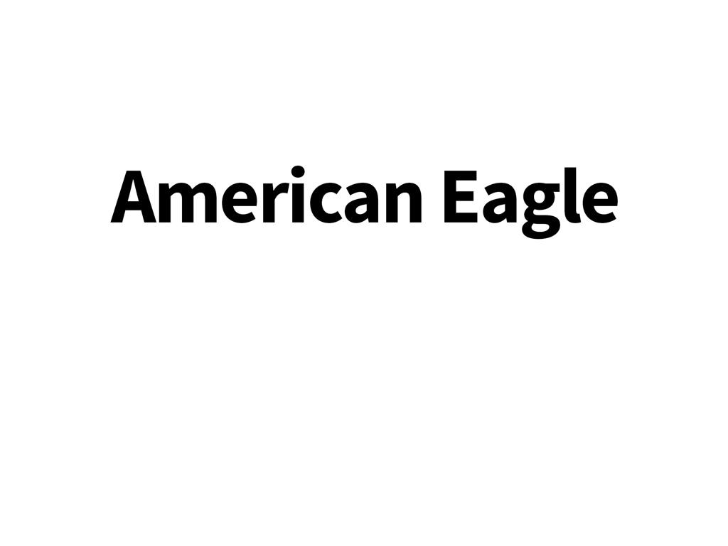 Geardrop til American Eagle cykler