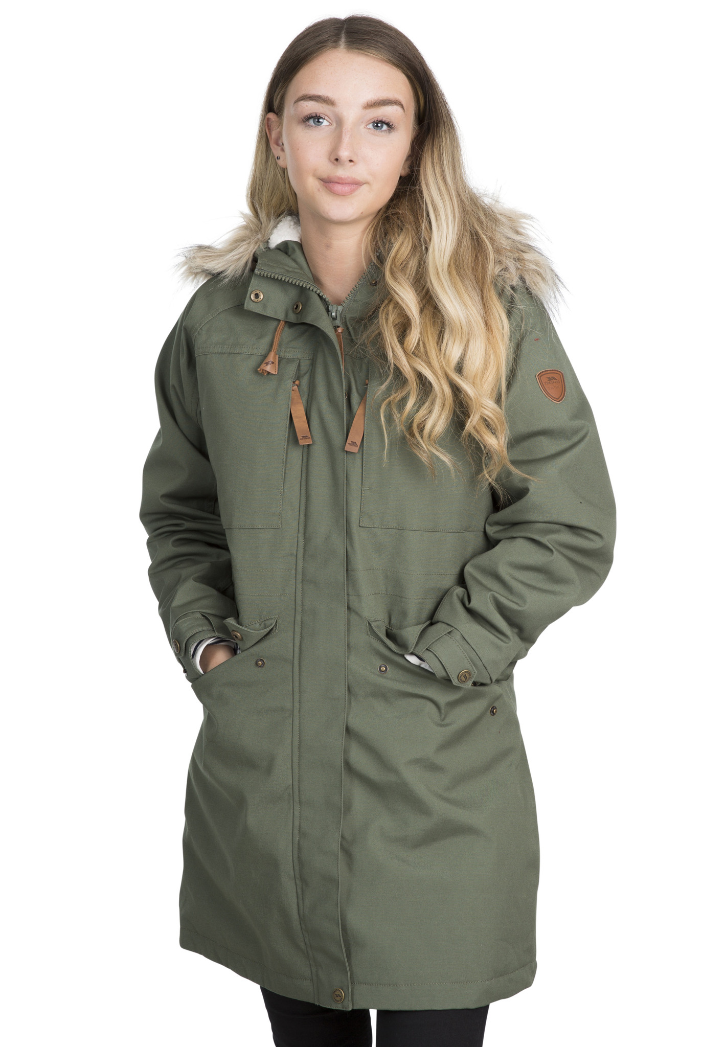 Trespass Faithful - Parka jakke dame - Grøn | Jackets
