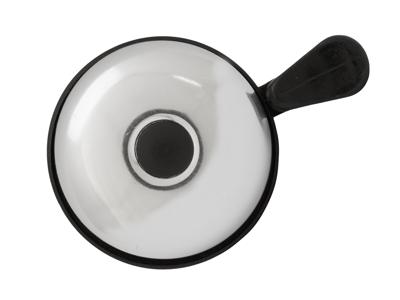 Atredo - Ringeklokke - Med plasthammer - sølv