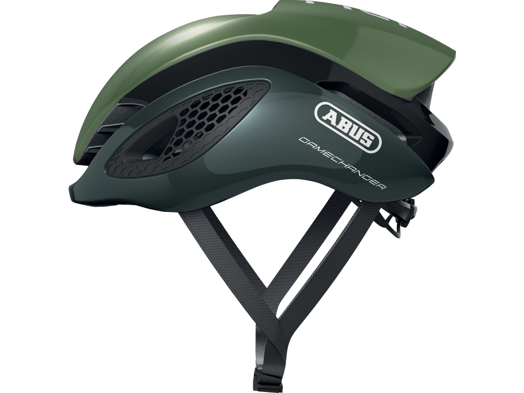 Image of   Abus GameChanger - Aero cykelhjelm - Grøn - Str. 51-55cm