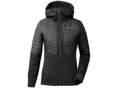 Didriksons Annema Jacket - Softshelljakke dame - Sort