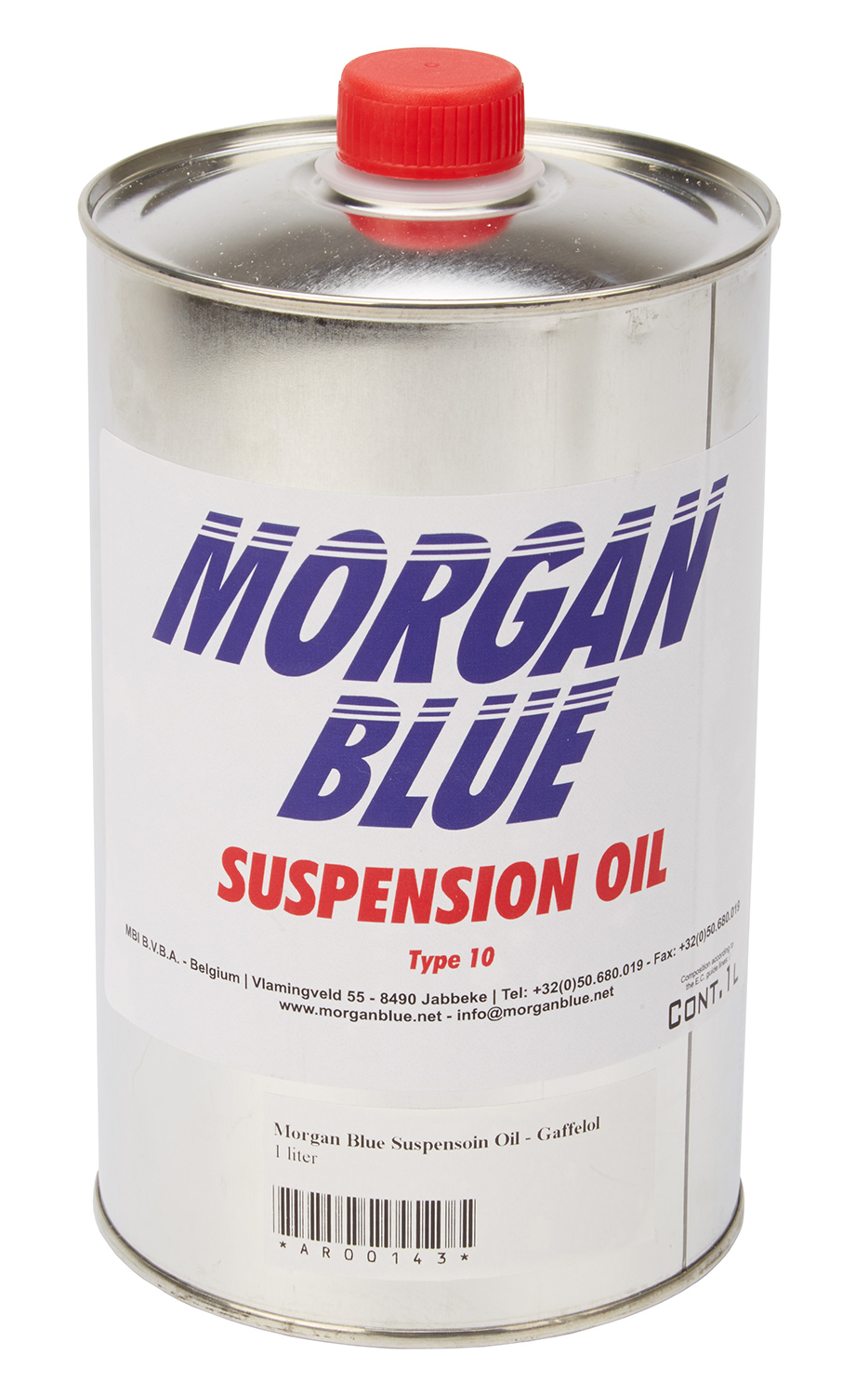 Morgan Blue Suspensoin Oil - Gaffelolie WT10 - 1 liter | polish_and_lubricant_component