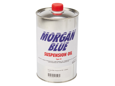 Morgan Blue Suspensoin Oil - Gaffelolie WT10 - 1 liter