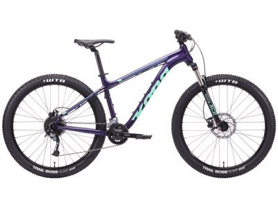 "Kona Fire Mountain - MTB - 27,5"" - 18 Gear - Lilla - Str. S"