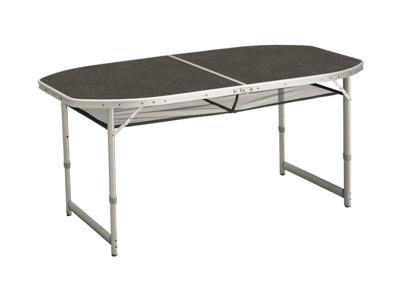 Outwell Hamilton - Spisebord Foldbar og Justerbar - Sort