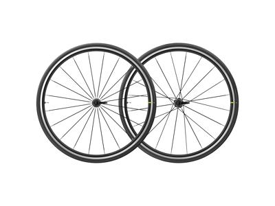 Mavic Aksium Elite UST - Tubeless Hjulsæt inkl. dæk - Sort - Sram/Shimano - 700x25c
