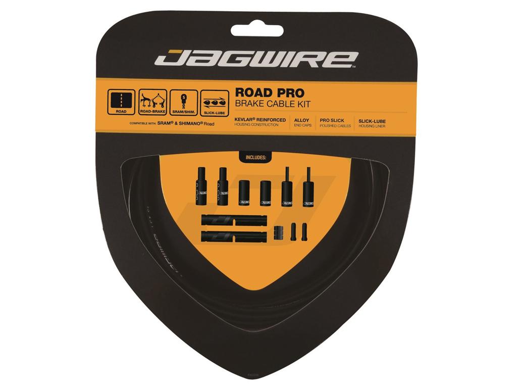 Jagwire - Road Pro - bremsekabel sæt til Road - Sort thumbnail