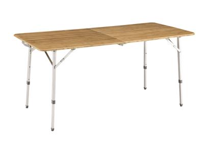 Outwell Custer XL - matbord fällbart och justerbart - natur
