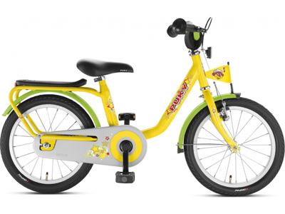 """Børnecykel Z 8 Puky 18"""" Gul"""