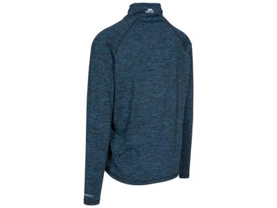 Trespass Gerry - Trøje med kort lynlås - Blå