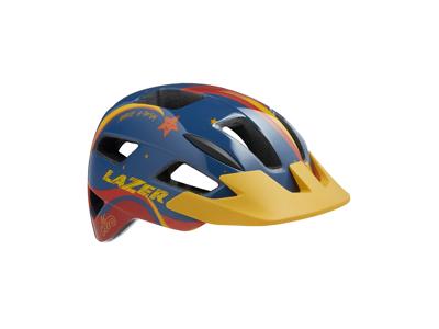 Lazer Lil Gekko - Cykelhjelm barn - Str. 46-50 cm - Star