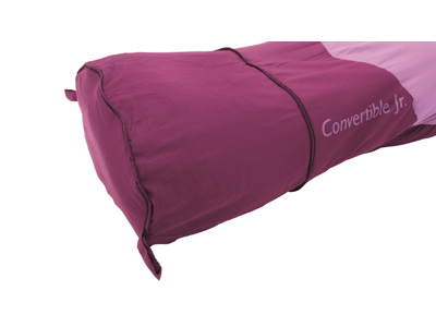Outwell Convertible Junior - Sovepose - Lyserød/Lilla