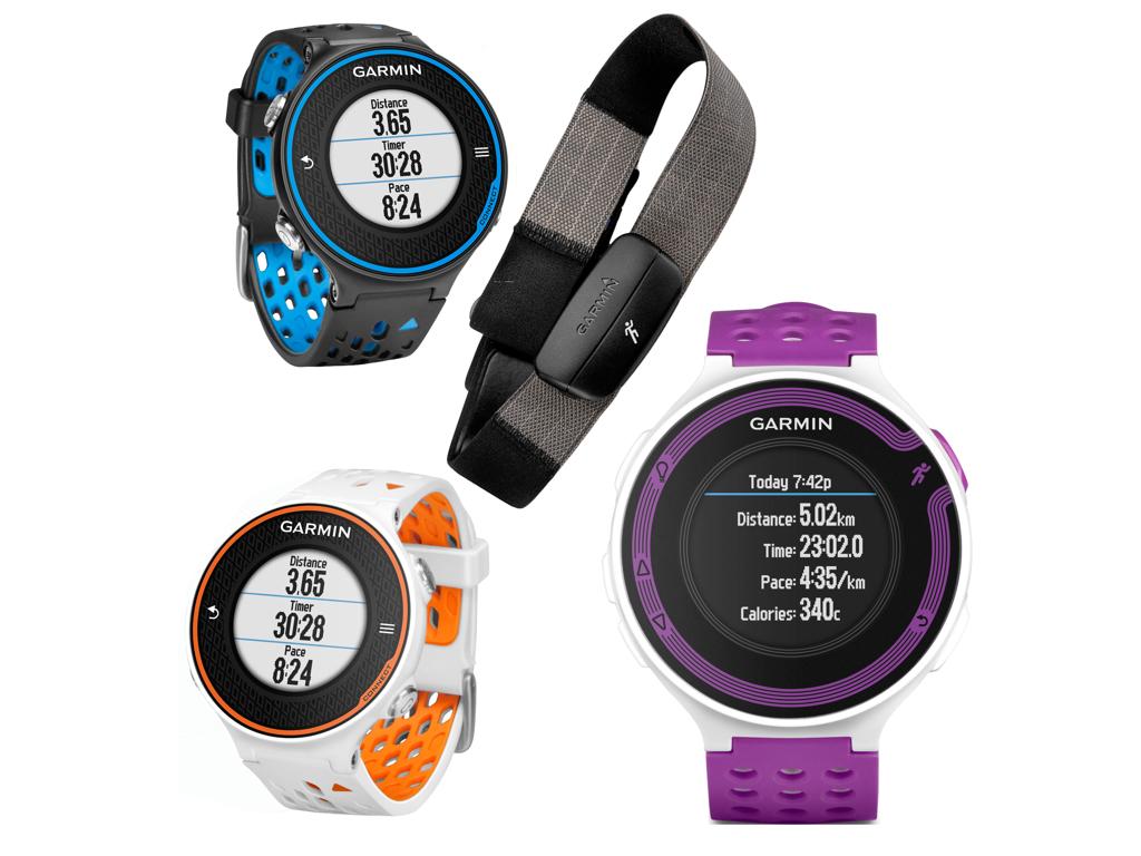 Løbeure med GPS