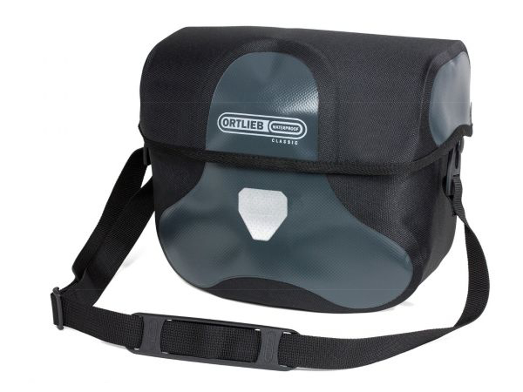 Ortlieb Ultimate Six Classic - Styrtaske - 7 liter - Sort/grå thumbnail