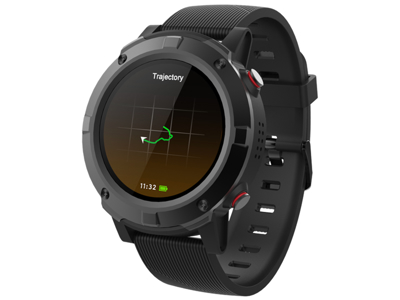 Denver - GPS Smartwatch med pulsmåler - Sort