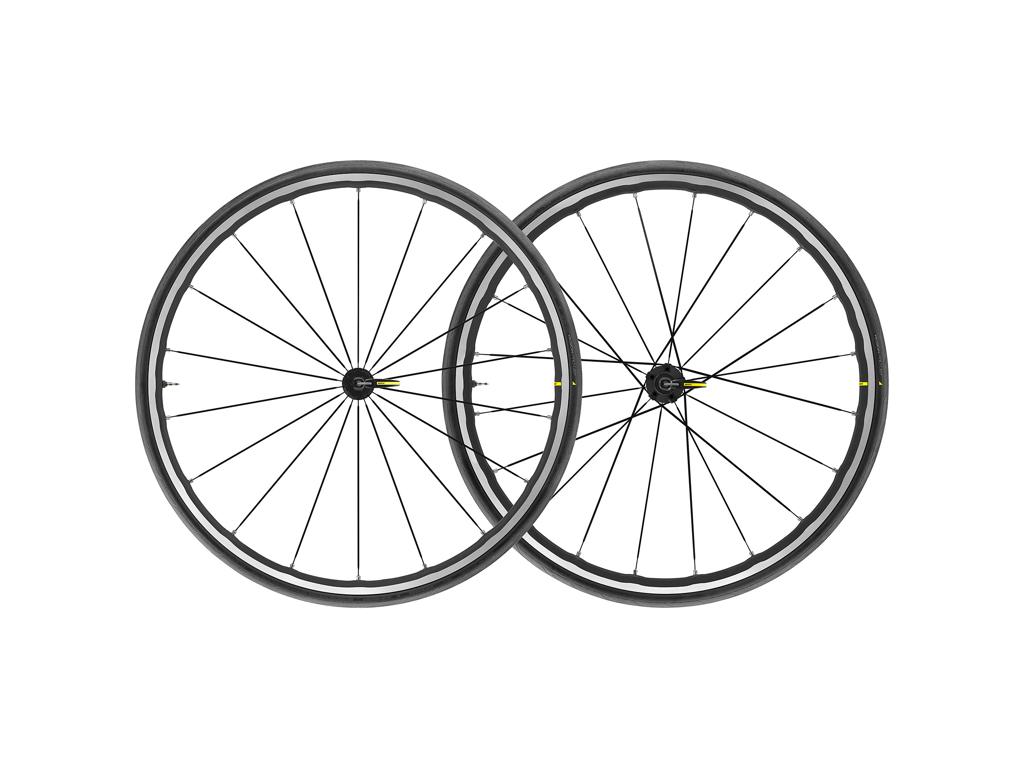Billede af Mavic Ksyrium Elite UST - Tubeless hjulsæt med dæk -  700 x 25c - Shimano/Sram