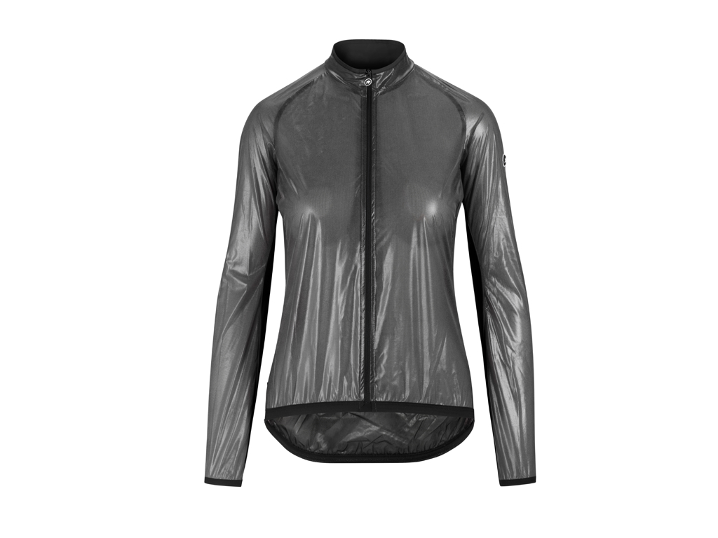 Image of   Assos UMA GT Clima Jacket EVO - Reflekterende dame vindjakke - Grå - Str. XS