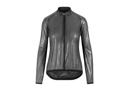 Assos UMA GT Clima Jacket EVO - Reflekterende dame vindjakke - Grå
