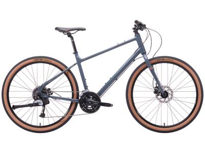 Kona Dew Plus - City Bike - 27 gear - Grå - Str. S