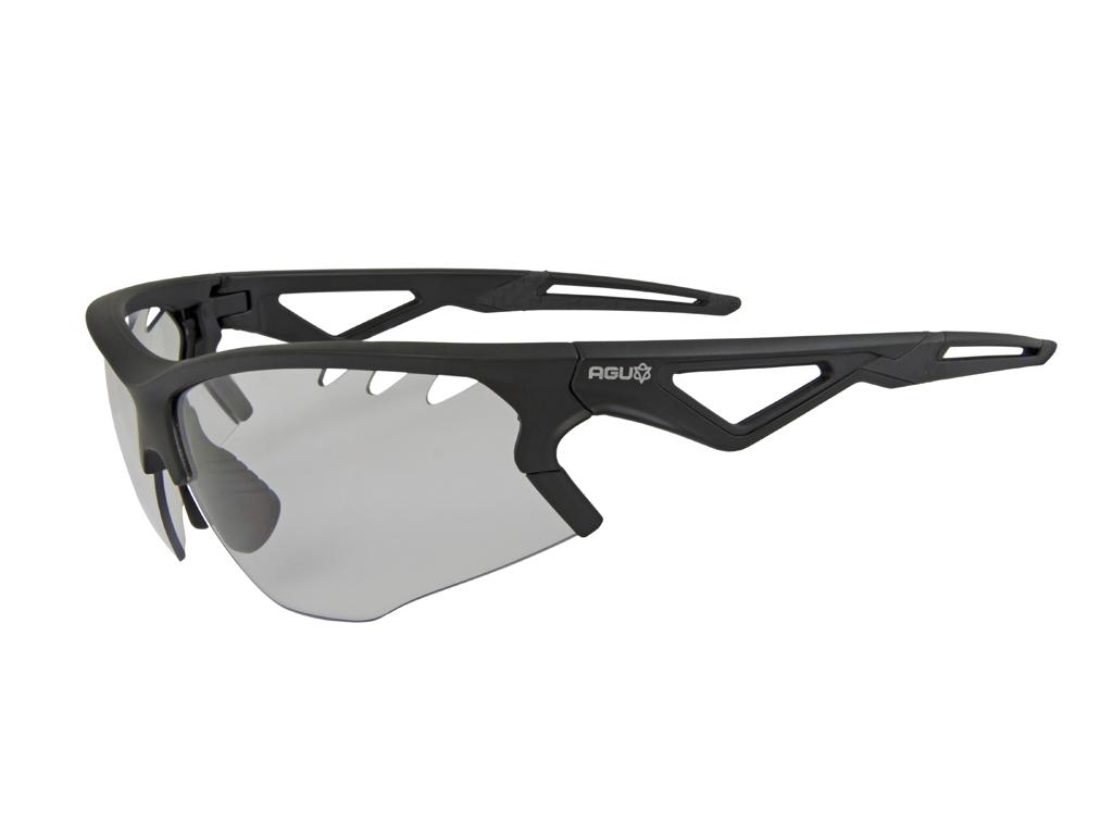 AGU Stark - Sports- og cykelbrille med fotokromiske linser - Sort thumbnail