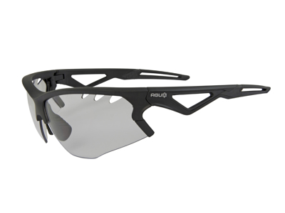 AGU Stark - Sports- og cykelbrille med fotokromiske linser - Sort